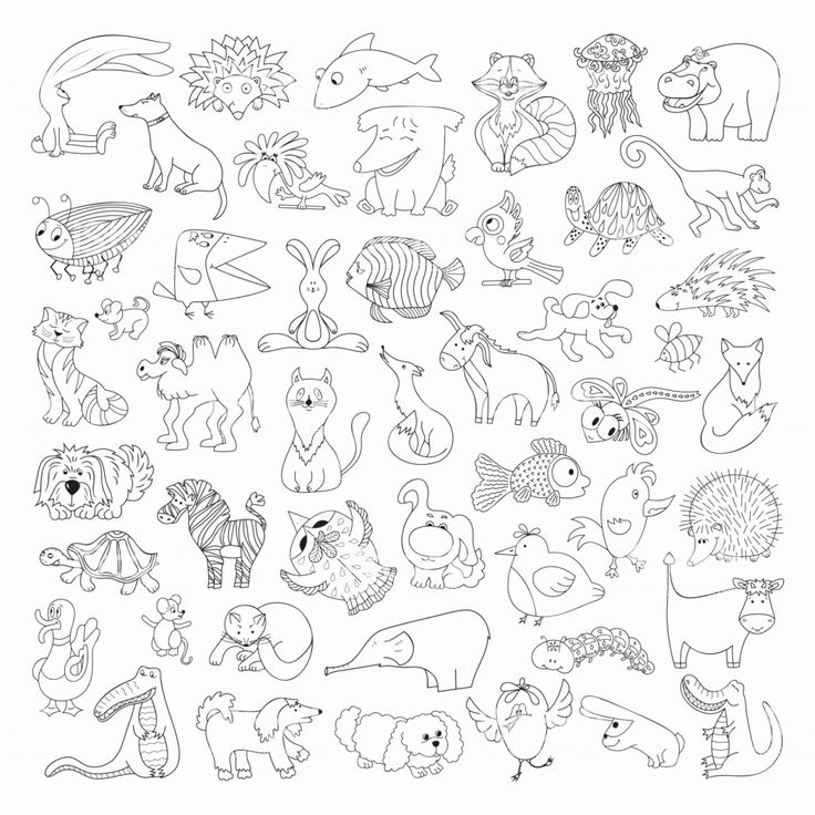 Forest Animals Coloring Sheet Elegant Wild Animal Coloring Pages forest Animals … – Printable Animal Coloring Page