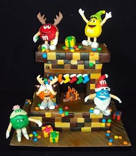 M christmas cake