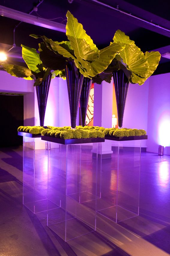Simon Lycett has a great lighting idea for an event, with minimal use of #flowers