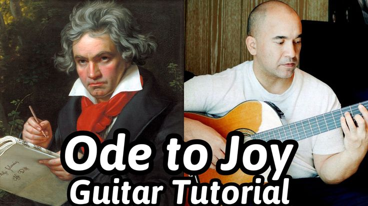 "Beethoven Classical Guitar Lesson ""Ode To Joy"" -  Note-By-Note+Free Tabs..."