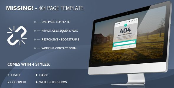 See More Missing - 404 Responsive Page Templatewe are given they also recommend where is the best to buy