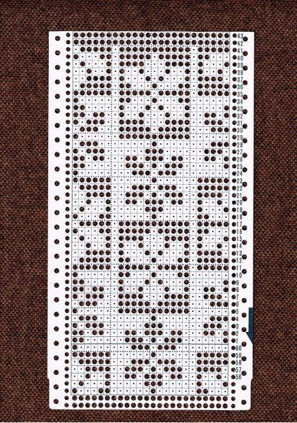 Knitting Machine Punch Card Templates 28 Images Annadrianna 171
