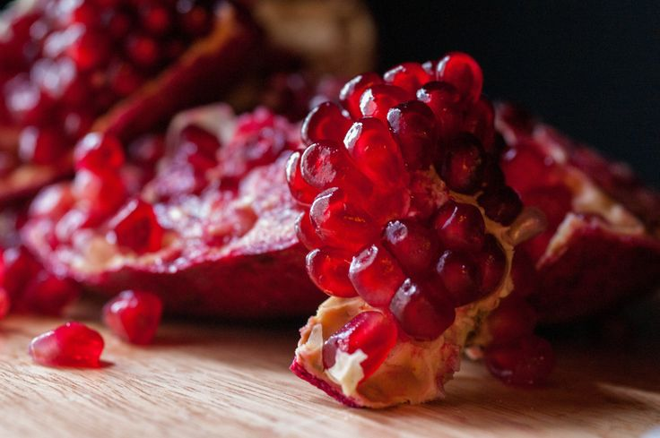 Pomegranate fruit and juice offer a wealth of nutrients and otherwise health benefits.