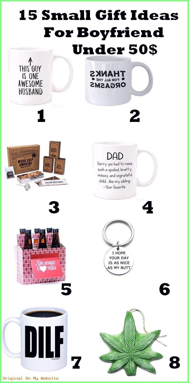 Gift Boyfriend Birthday: 15 Small Gift Ideas For Boyfriend Under 50$  #DIY-GeschenkefürdenFre…