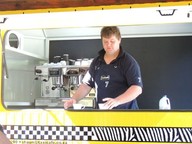 Shaun the barista