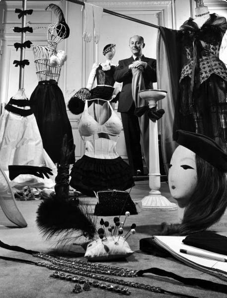 Dior at his atelier, November 1947. Photo: Frank Scherschel.