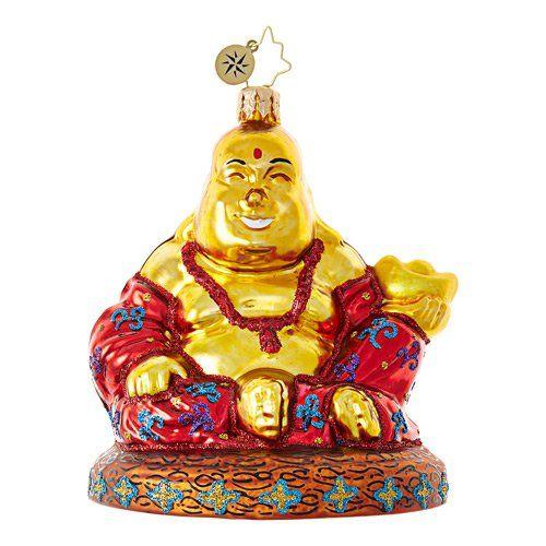Christopher Radko Ornament - Find Your Zen