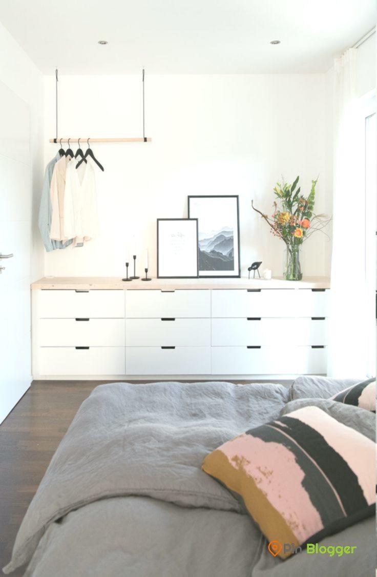 Schlafzimmer Mit Ikea Nordli Diy Schlafzimmer Bedroom Pin