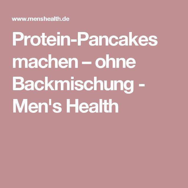 Protein-Pancakes machen – ohne Backmischung - Men's Health