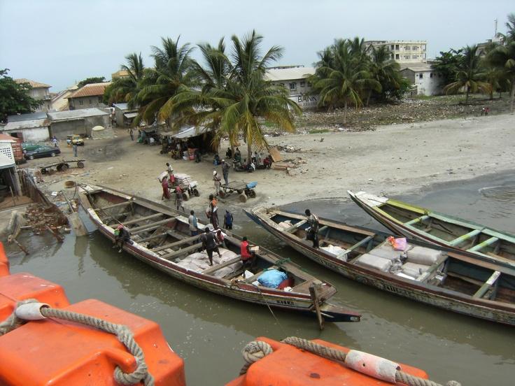 Cayucos a Banjul. Gàmbia