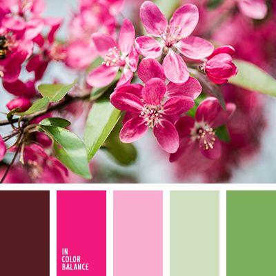 алый, бледно-розовый, болотный, бордовый, винтажные цвета, зеленый, малиновый, насыщенный зеленый, оттенки болотно-зеленого, оттенки весны, оттенки зеленого, оттенки розового, оттенки светло-розового, оттенки темно-зеленого, подбор.