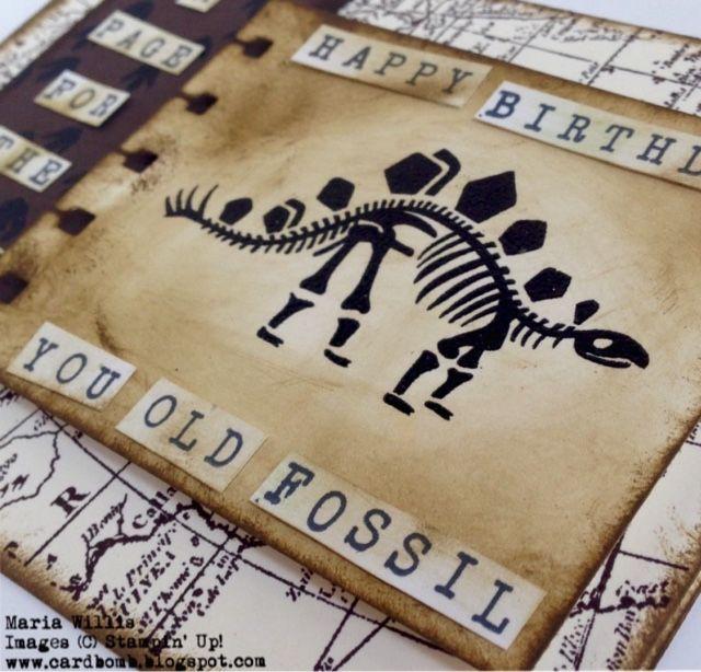 Cardbomb: WWYS #22: No Bones About It #WWYS22, Stampin' Up! Maria Willis www.cardbomb.blogspot.com