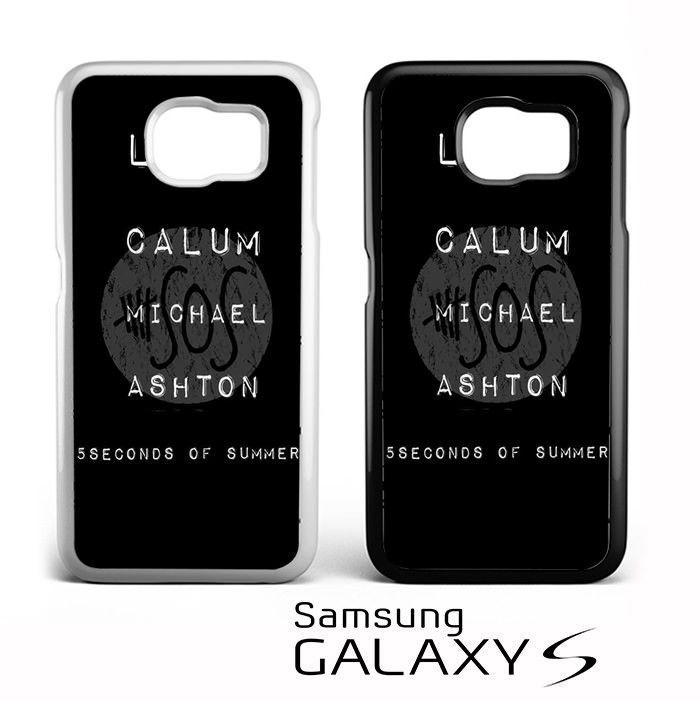 Luke Calum Michael Ashton 5SOS for Samsung Galaxy S3/S4/S5/S6/S6 Edge/S6 Edge Plus/S7 Phonecases