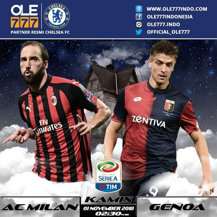 Saksikan MATCH Serie A AC Milan vs Genoa Kamis 1