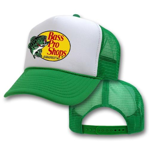 Bass pro trucker hat