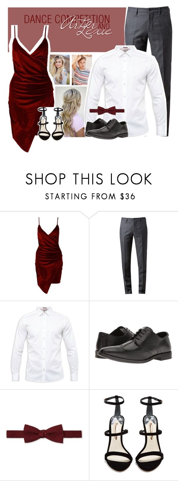 """dance comp - a&l"" by refplayitback on Polyvore featuring Boohoo, Browns, Ted Baker, Steve Madden, Lanvin and Sophia Webster"