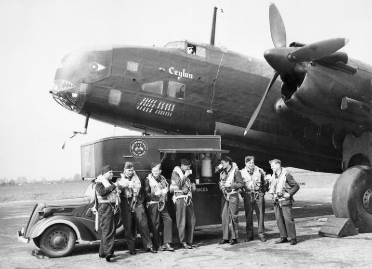 Handley-Page Halifax 'G for George'.