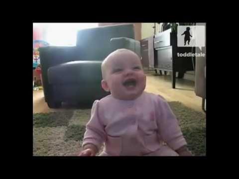 Смех маленького ребенка