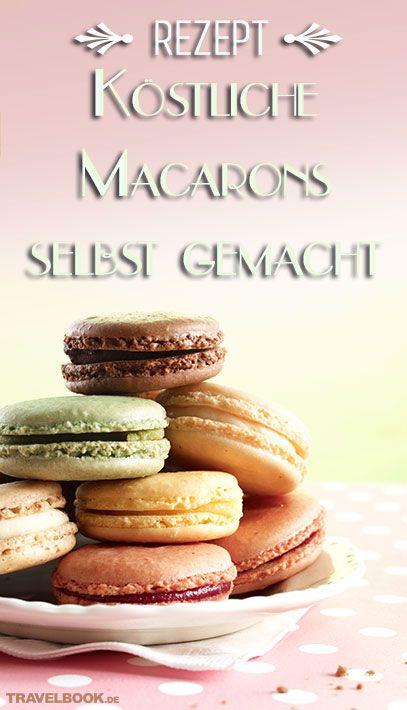 Luftige Hülle und zarte Creme: Die französische Baiser-Spezialität Macaron eignet sich perfekt als süße Begleitung zum Kaffee. Es gibt das kleine Gebäck in unzähligen Varianten und Farben und es lässt sich mit ein bisschen Fingerspitzengefühl auch gut selbst zubereiten.