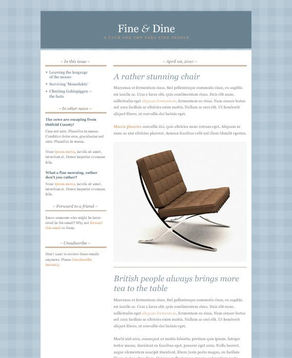 38 best images about Email & Newsletter Templates on Pinterest