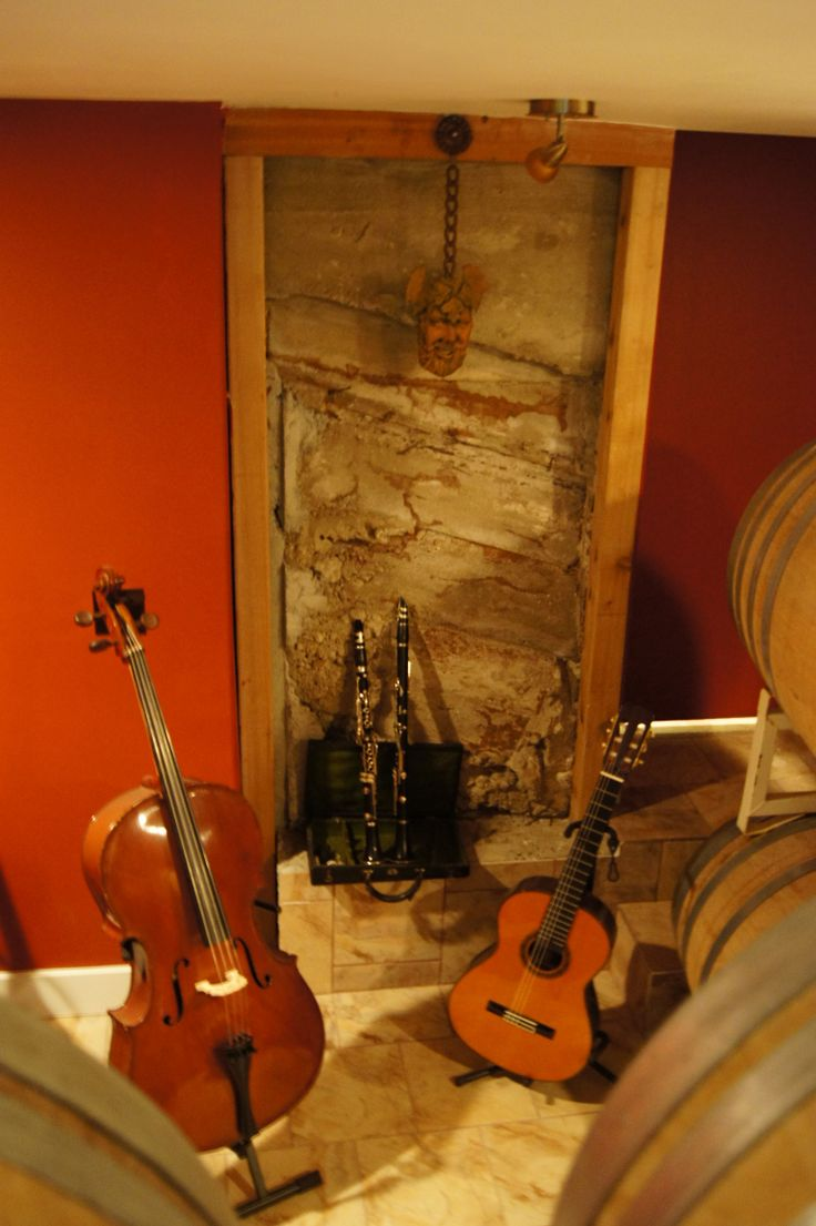 The Wine Cellar at Misconduct Wine Co. at www.girouxdesigngroup.com