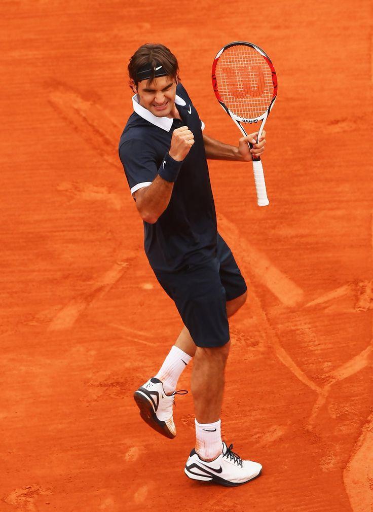 Roger Federer Photos: French Open - Roland Garros 2008