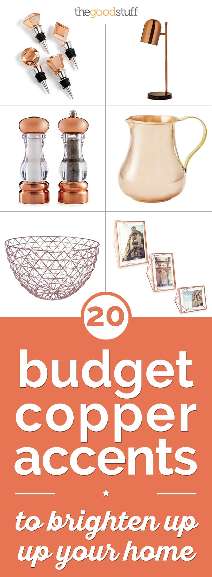 20 Budget Copper Accents to Brighten Up Your Home