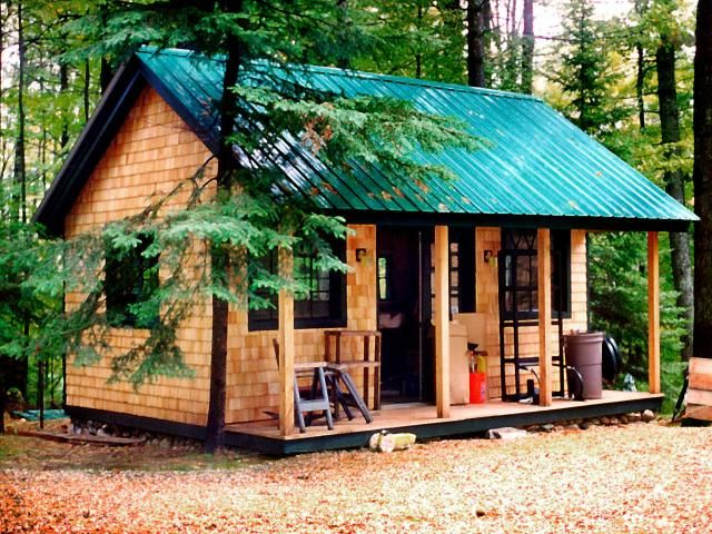 16×20 Vermont Cottage for $9,984 including FREE SHIPPING to continental USA and parts of Canada