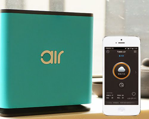 Traveler's Air Purifier: This pocket-sized air purifier uses similar technology developed by NASA for air purification aboard the space shuttle and gives you clean air.