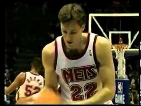 Most Embarrassing Streaks in Sports History - Marv Albert enjoys Chris Dudley's free throws - Knicks @ Nets - 1992/93