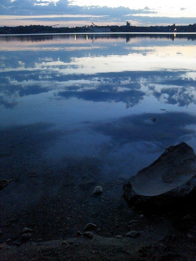 Lake at Langen, Hessen, Germany