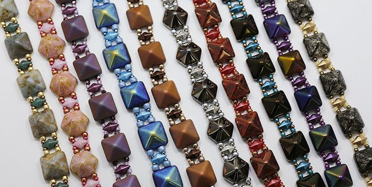 Red Panda Beads Gallery of Color Suggestions