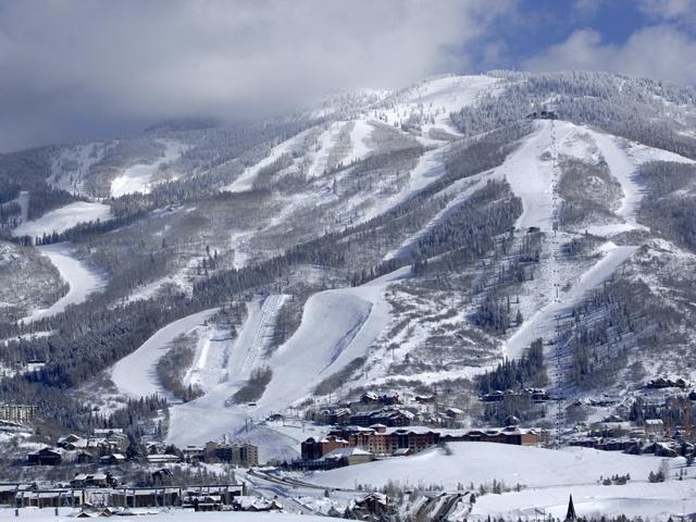 Skiing Steamboat Springs, Colorado
