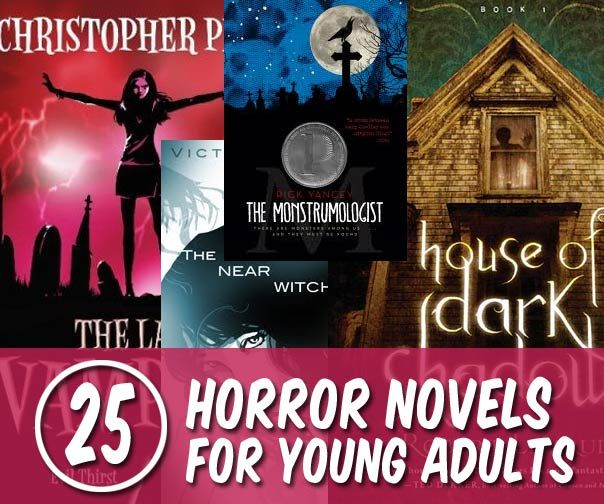 Top 25 Horror Novels For Young Adults - Zombies, Vampires -6137