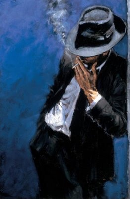 Fabian Perez - Just sold the original of this.