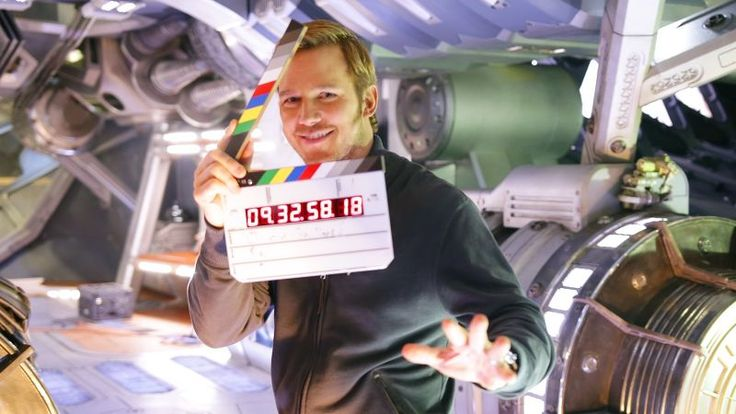 Chris Pratt Gives a Hilarious Tour of the Guardians of the Galaxy Vol. 2 Set