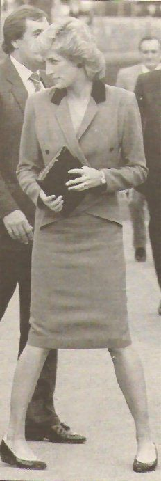Princess Diana - Special School for Epileptics  Lingfield Hospital, East Grinstead , le 22 Septembre 1987