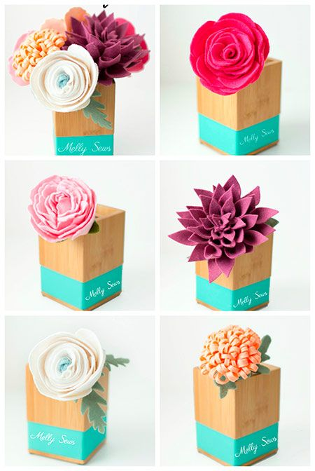 M s de 25 ideas fant sticas sobre rosas de fieltro en for Decoracion del hogar en pinterest