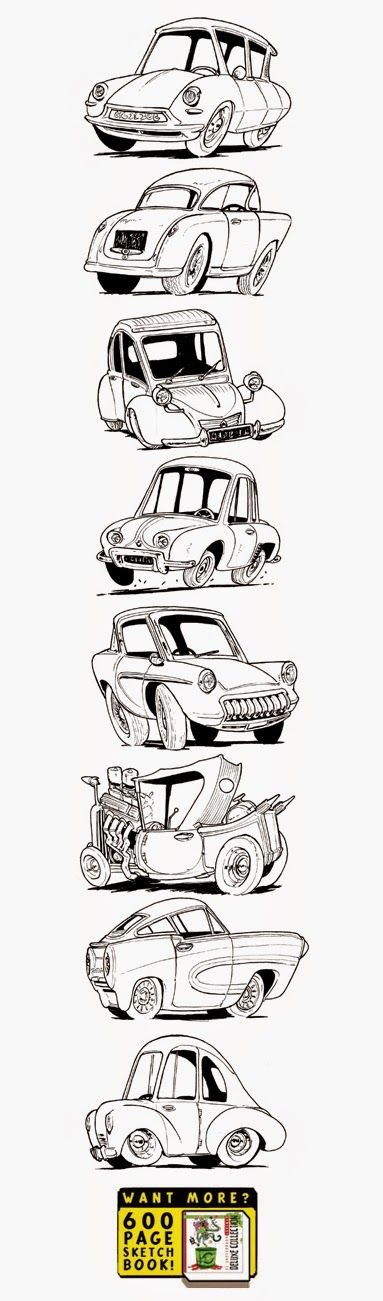 The Etherington Brothers: Eight more Vehicle designs...