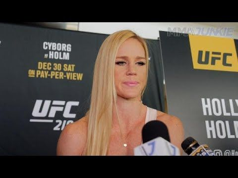 MMA UFC 219: Holly Holm full media day interview