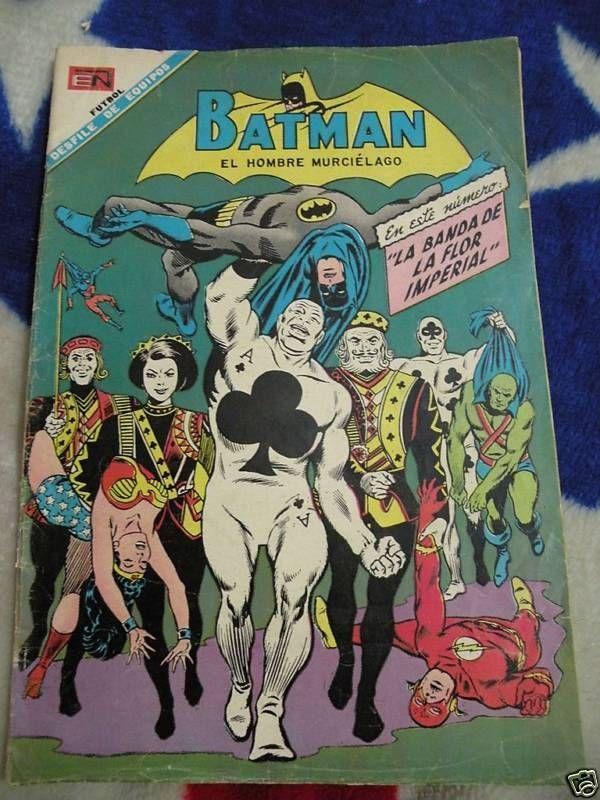 BATMAN #423 - NOVARO - LA BANDA DE LA FLOR IMPERIAL XRARE 1968 MEXICO