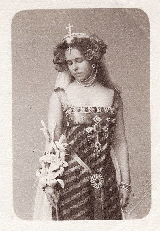 Queen Marie of Romania, late 1800's.