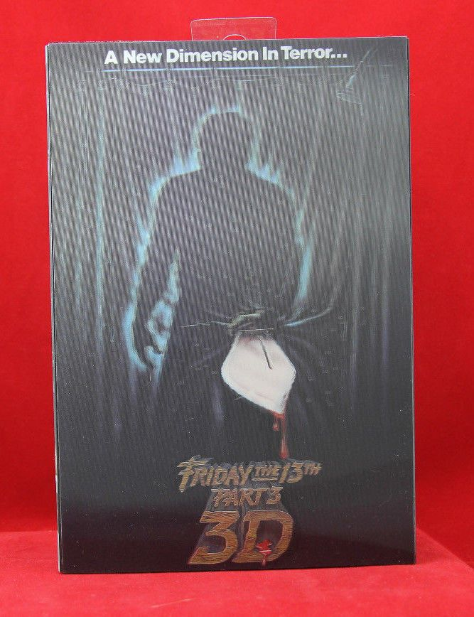 "NECA Friday the 13th Part 3 3-D Ultimate Jason Voorhees 7"" Action Figure #NECA"
