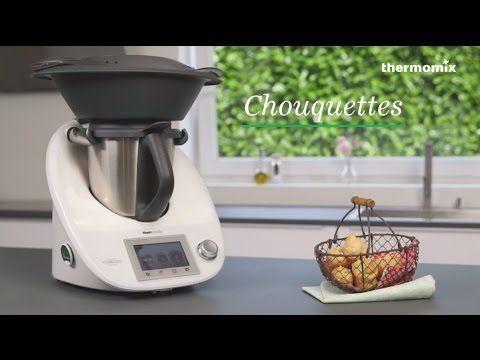 Les chouquettes au Thermomix® TM5, recette issue des cours de cuisine - YouTube