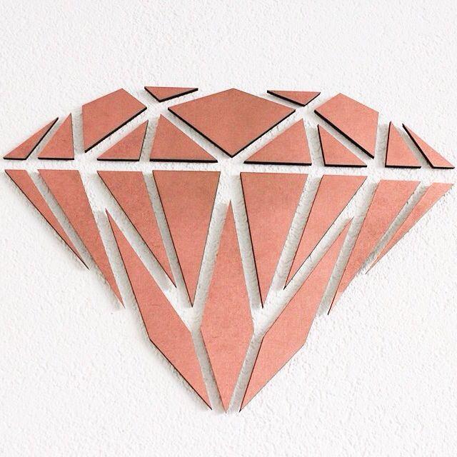 Wooden Diamond. Te bestellen via Kroft Design,€14,95