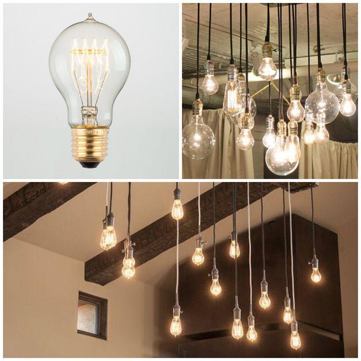 Приятную атмосферу всегда создает освещение...) На сегодняшний день, как никогда, популярны лампы Эдисона. Эти эксклюзивные лампочки вписываются практически в любой интерьер. В особенности стиль лофт очень нуждается в исключительной атмосфере, которую помогают создать лампы Эдисона. #лампыэдисона #эдисон #освещение #свет #декохата #decohata #decohata_useful #lamp #loft