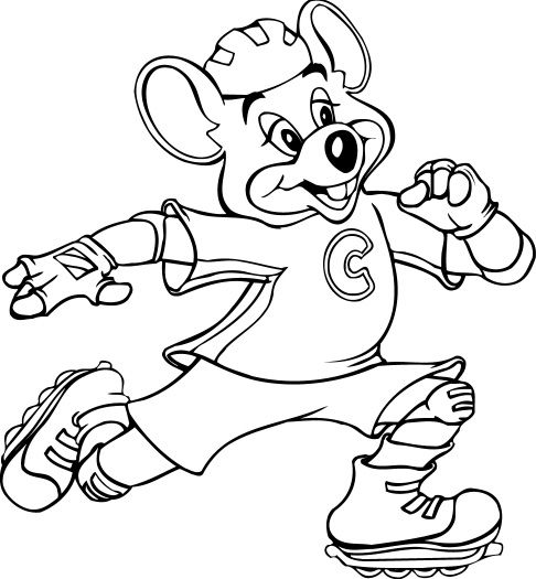 chuck e cheese coloring pages | Fotos : quesos de mujeres More