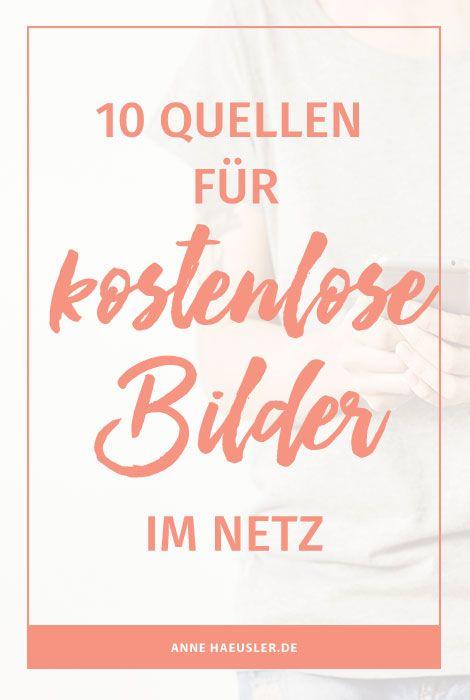 Du bist auf der suche nach wunderschönen UND kostenlosen Bildern? Dann wirst du hier bestimmt fündig! I www.annehaeusler.de