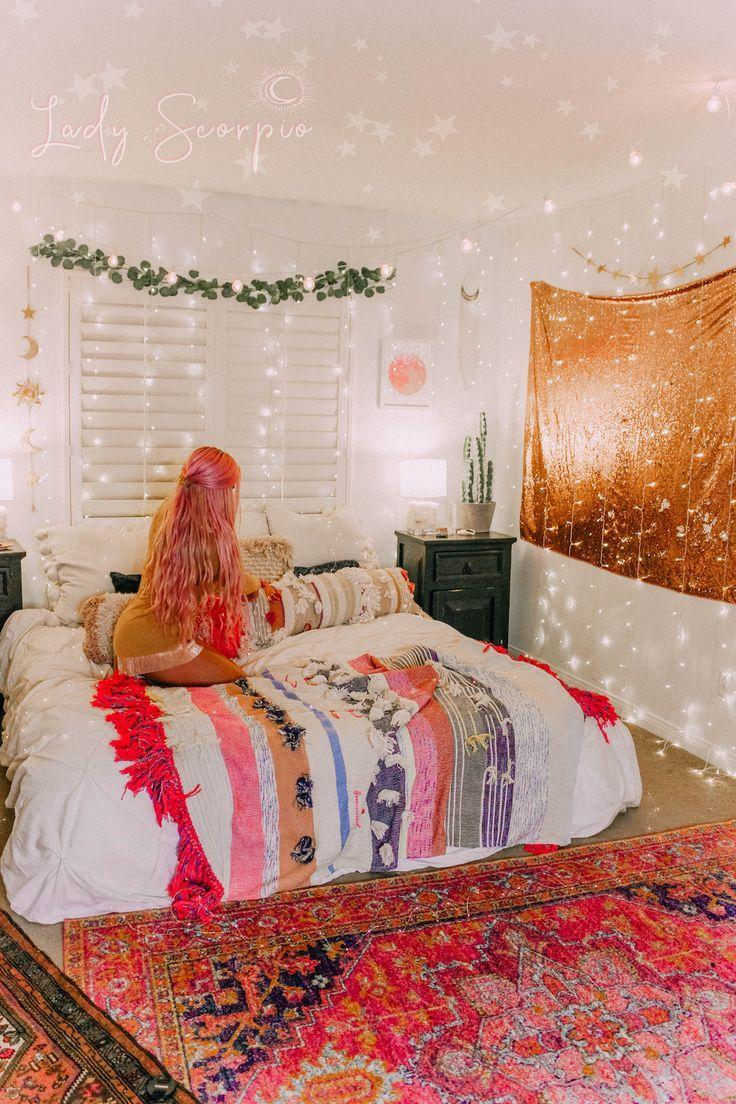 Stargazer Wall Hanging Decor Bedroom Decor Stylish Bedroom Design Bedroom Design