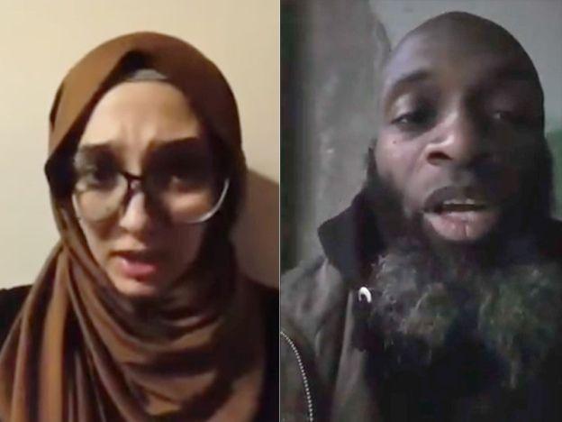 'Tolong selamatkan penduduk Aleppo'   Lina Shamy (kiri) dan Bilal Abdul Kareem.  ALEPPO - SYRIA. Di sebalik laporan pembunuhan kanak-kanak dan wanita oleh tentera rejim Bashar al-Assad ramai penduduk Aleppo mengucapkan 'selamat tinggal' melalui media sosi